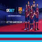 1xbet bahis sitesi Barcelona futbol takımının sponsoru oldu.
