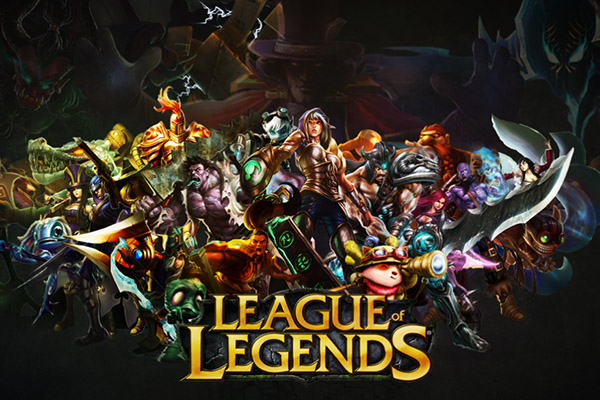 League of legends oyunu