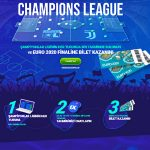 1xbet'te Euro 2020 Final bileti kazanın